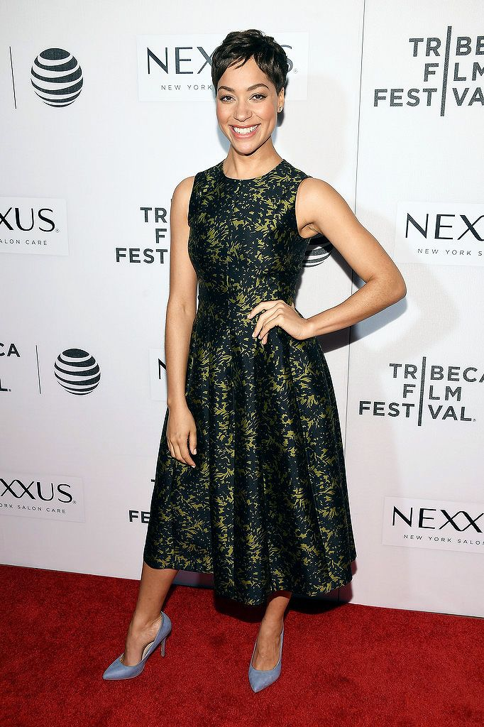 """Cush Jumbo attends """"The Good Wife"""" Screening during the 2016 Tribeca Film Festival at John Zuccotti Theater at BMCC Tribeca Performing Arts Center on April 17, 2016 in New York City"""