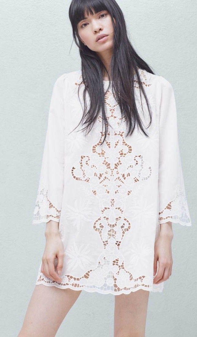 Come indossare un abito bianco quartz