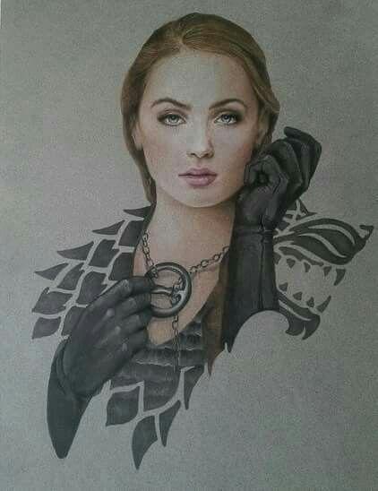 Sansa Stark by Jermsy...... !!!!