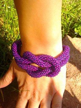 bead crochet barcalet