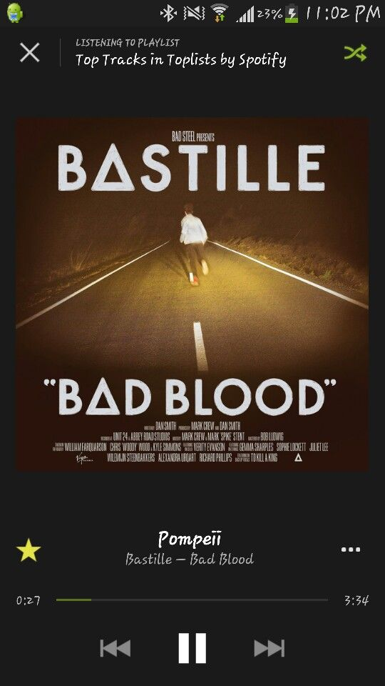 bastille bad blood audio