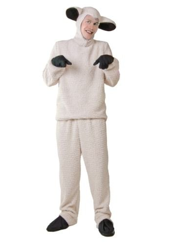 Question You Adult animal costume sheep