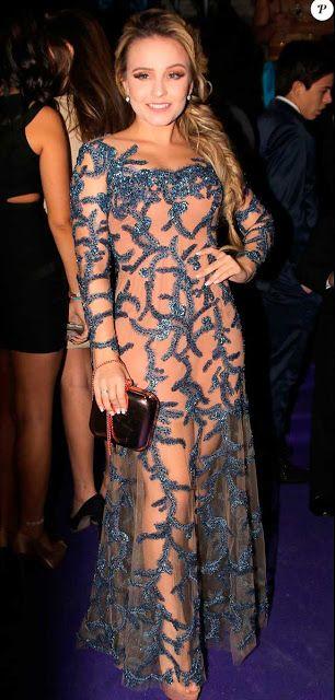 Larissa Manoela look na festa da Maisa