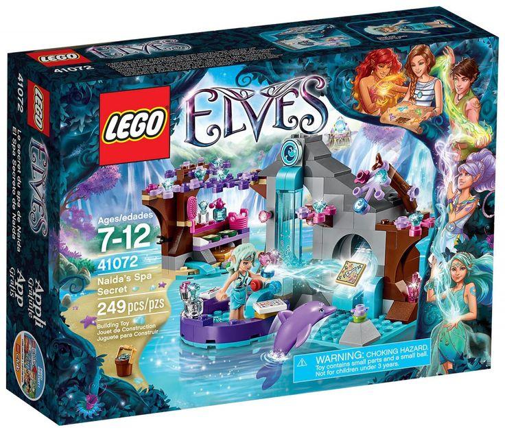 LEGO Elves 41072 : Le spa de beauté de Naida
