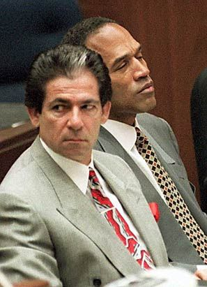 Robert Kardashian, father of the Krincesses and pal of OJ Simpson who murdered Nicole Simpson. Kardashian claimed he was one of OJ's attorneys to avoid testifying about what he knew which, of course, was everything. Coward, liar, and father of the Krincesses. No wonder they are trash.