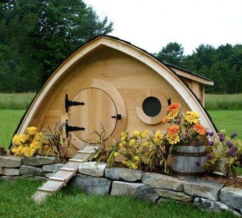 Hobbit Hole Chicken Coop