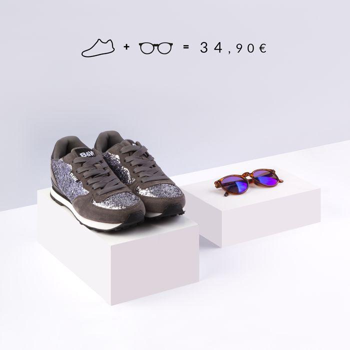 Jogging plata para mujer