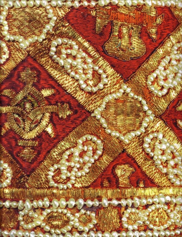 HRE embroidery detail