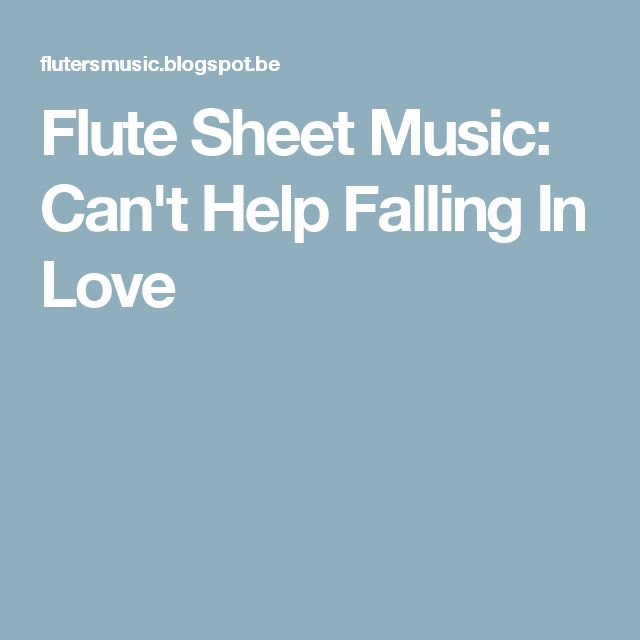 can t help falling in love piano sheet music pdf