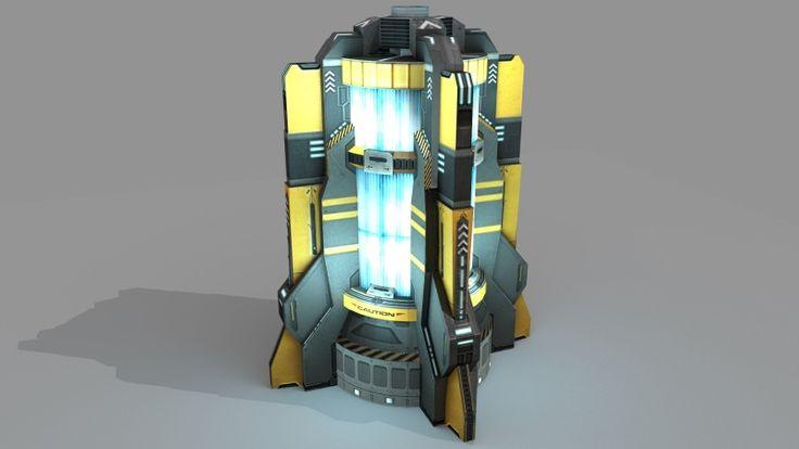 Assets [Gajatix] Sci Fi Power Generator + Winter Sale [-50% Off]!!