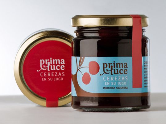 Prima Luce jam packaging by Campoy Principi Domenech