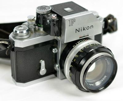 Nikon F Photomic FTN Classic 35mm Manual Focus Camera + Nikkor-S 1.4 50mm Lens