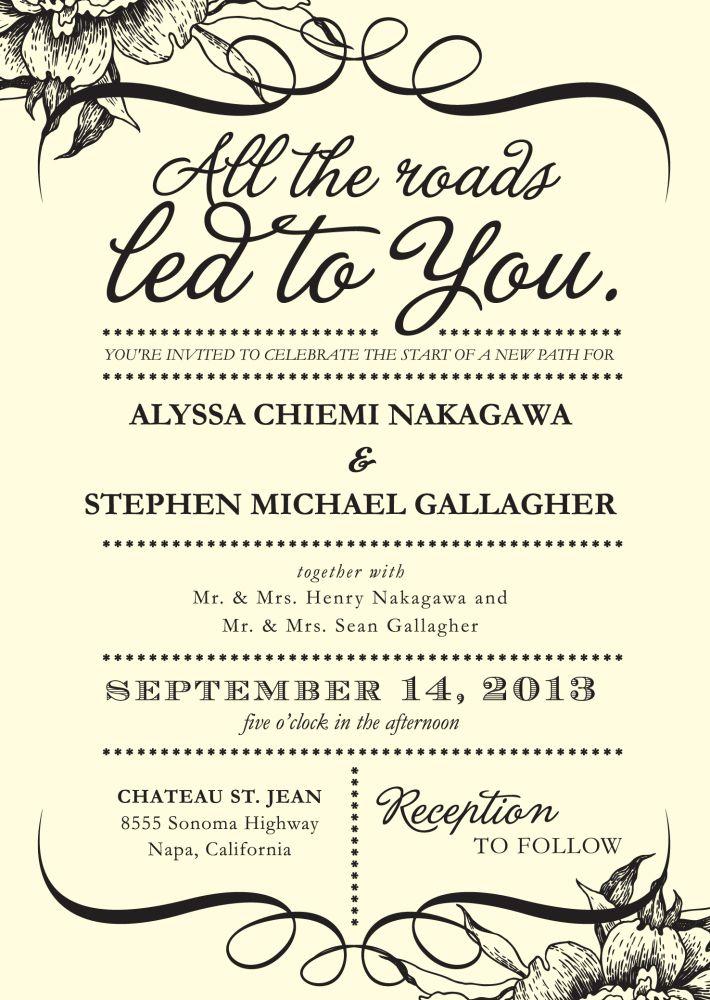 best 25  wedding invitation wording ideas on pinterest