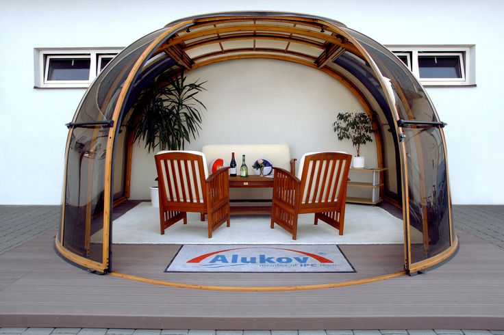 .Come to see our showroom of enclosures by Alukov a.s.