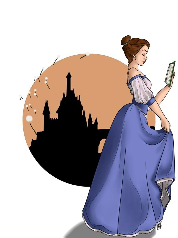 Belle (I can't make out the name of the artist at the bottom but this looks like it's a part of a series)