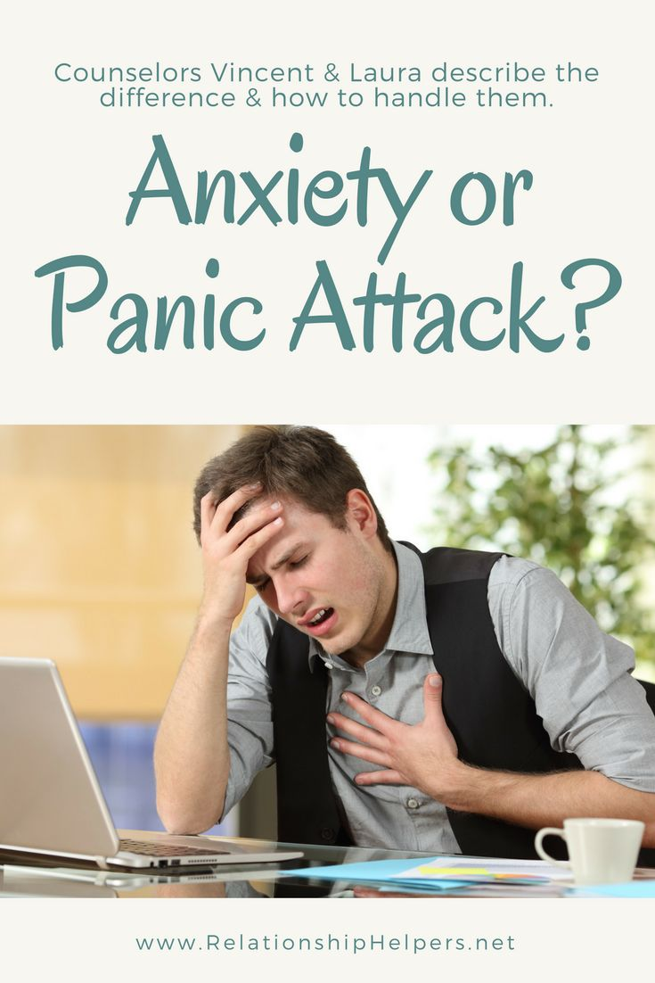 Anxiety attacks and panic attacks frequently send people to the hospital.  Learning the difference between these and learning to cope can be encouraging in the recovery process.  Learn from Vincent and Laura Ketchie, licensed professional counselors how to cope with these attacks as well as how to help a loved one who experiences them.