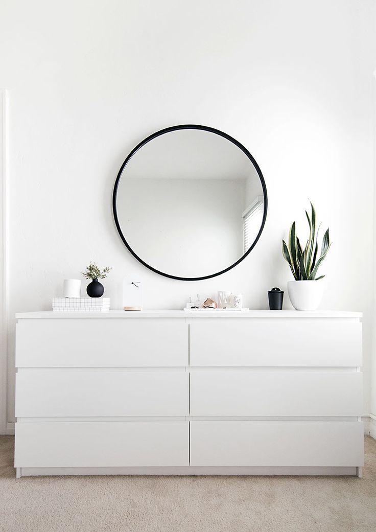 die besten 25 spiegel mit rahmen ideen auf pinterest. Black Bedroom Furniture Sets. Home Design Ideas