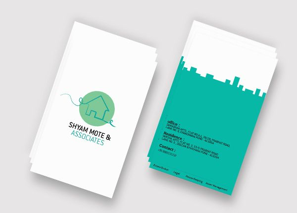 Real Estate - Branding by Pranav Mote, via Behance