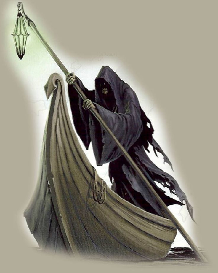 an overview of the ferryman of the dead charon Charon, also known as the ferryman and rower is a character in hesiod and homer's myth he débuts, with his appearance in around seven hundred bce and usually ends.
