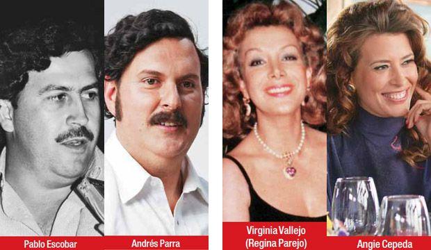 Angie Cepeda interpreta a Virginia Vallejo, Andres Parra ...