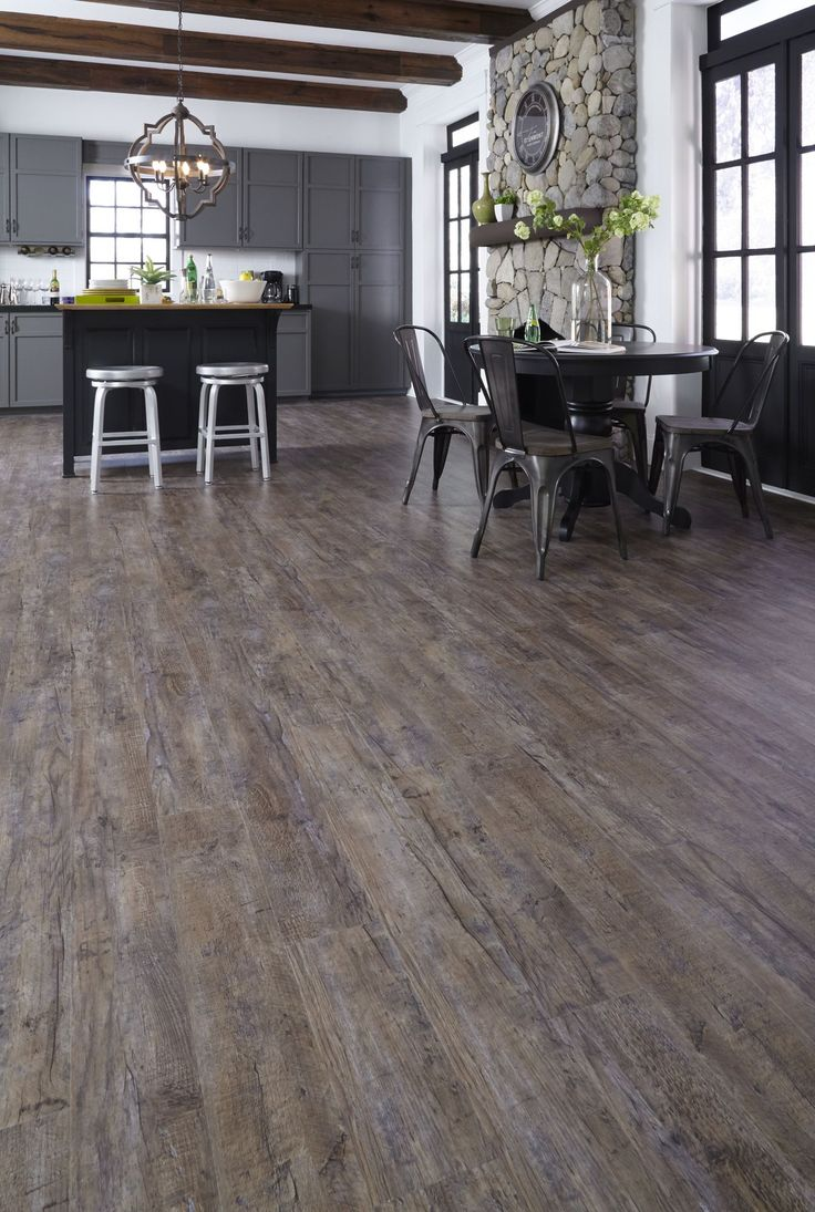 20 best Aqualok Vinyl Floors images on Pinterest  Beach house Beach houses and Dark hardwood