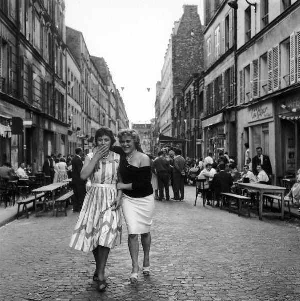 Une épaule rue de Nantes 1958 |¤ Robert Doisneau | 13 juillet 2015 | Atelier Robert Doisneau | Site officiel