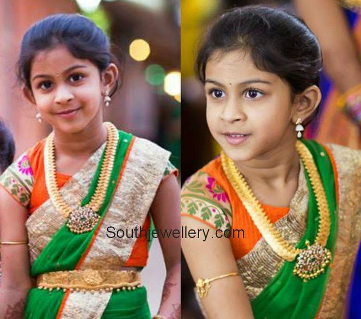 South Jewellery: Beautiful Kid in Traditional Jewellery