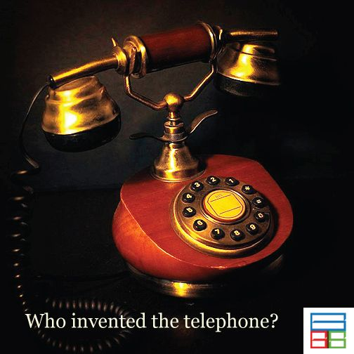 Alexander Graham Bell invented the telephone. #Quiz #Kids #Knowledge #Brain #GK