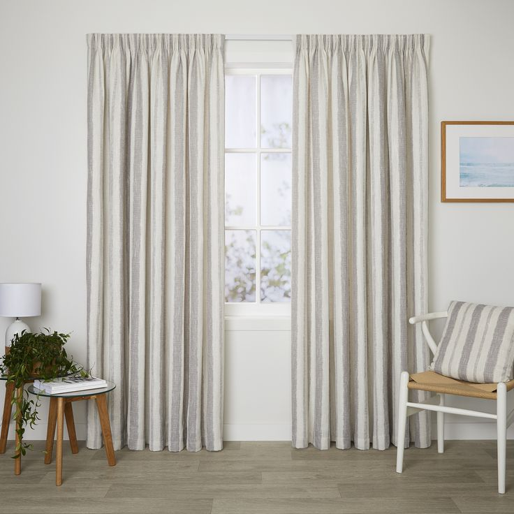 Berkeley Dove - Readymade Lined Pencil Pleat Curtain - Curtain Studio buy curtains online