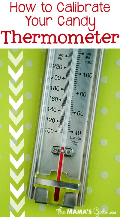 How to Calibrate your Candy Thermometer - This will come in handy when I make my holiday candies!