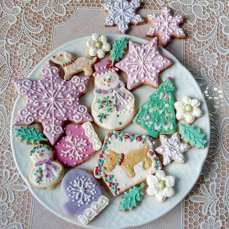Новогоднее печенье к празднику.