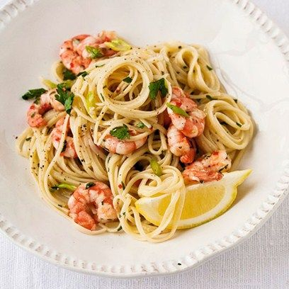 how to make prawn spaghetti