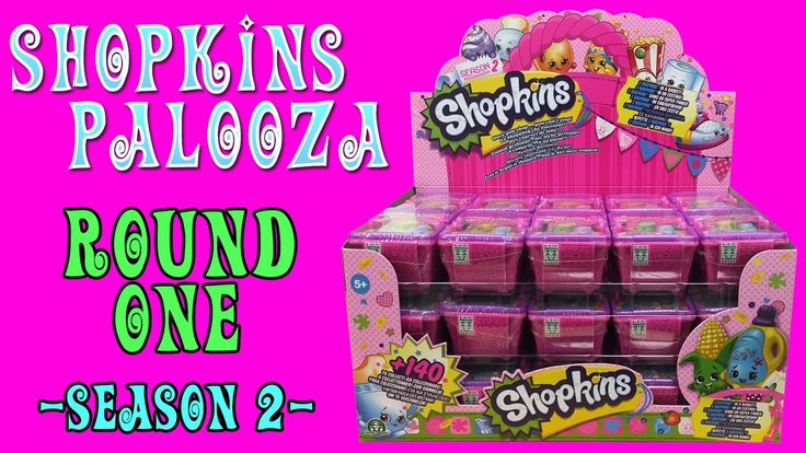 SHOPKINS-PALOOZA ROUND ONE // SEASON 2 SHOPKINS BLIND BASKETS