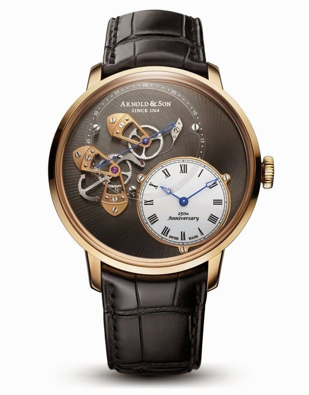 Arnold and Son Dial Side True Beat watch
