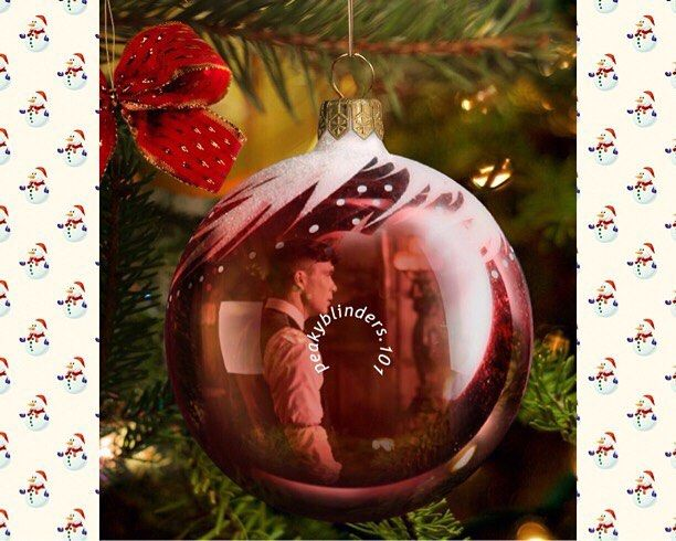 """128 Likes, 1 Comments - By Order Of The Peaky Blinders (@peakyblinders.101) on Instagram: """"I'd be starring at my Christmas tree if I had this bauble •Christmas theme #peakyblinders…"""""""