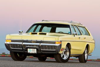 David Henriksen's lovingly-maintained survivor 1972 Dodge Monaco wagon is a one-of-a-kind performer with over 200,000 miles on the clock.