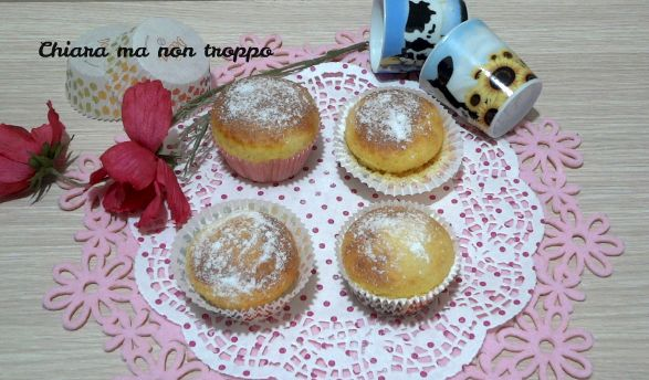 Muffin con yogurt greco sofficissimi