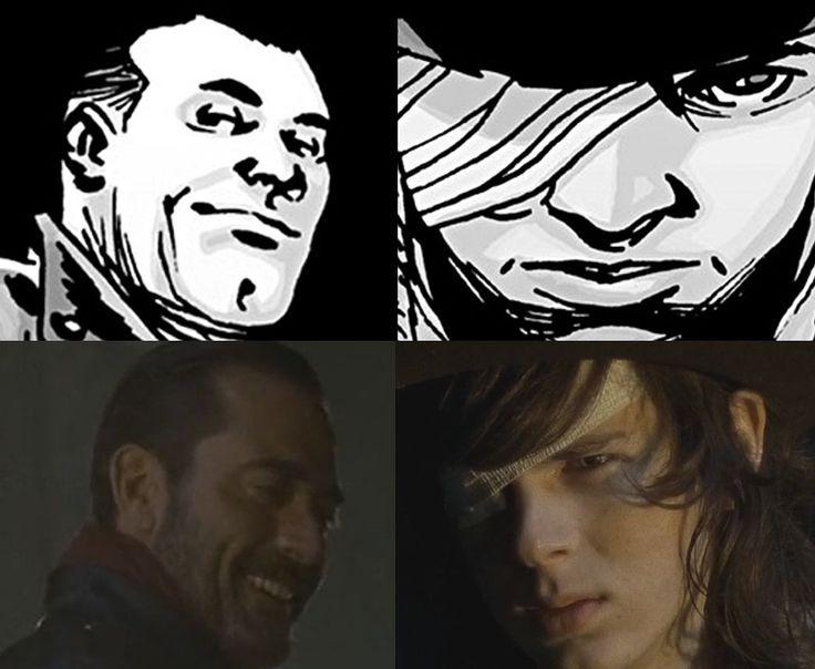 negan and carl...strange relationship
