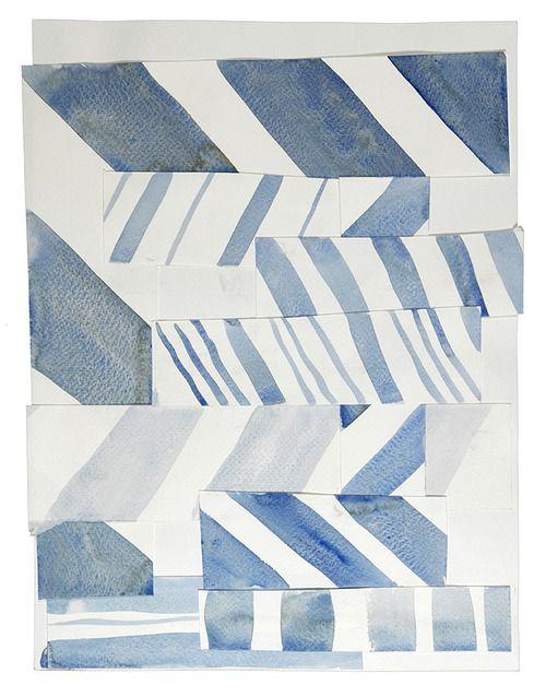 Coups de cœur | Tumblr -- watercolor stripe collage