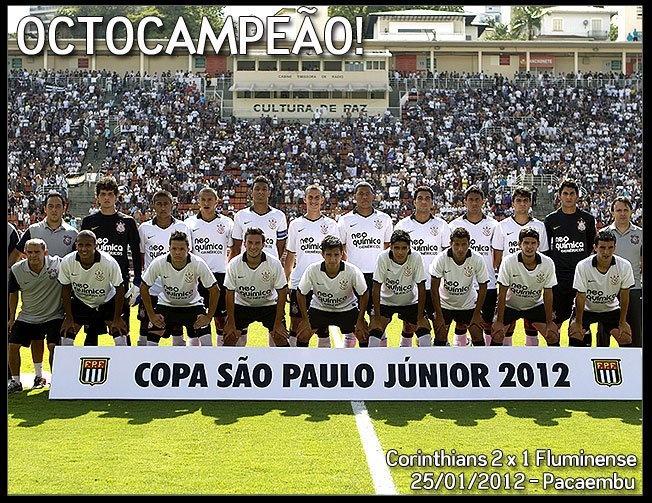 Corinthians juniores Corinthians paulista, Copa sao