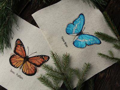 """Бабочки """"Рукодельных забав"""" - 2."""