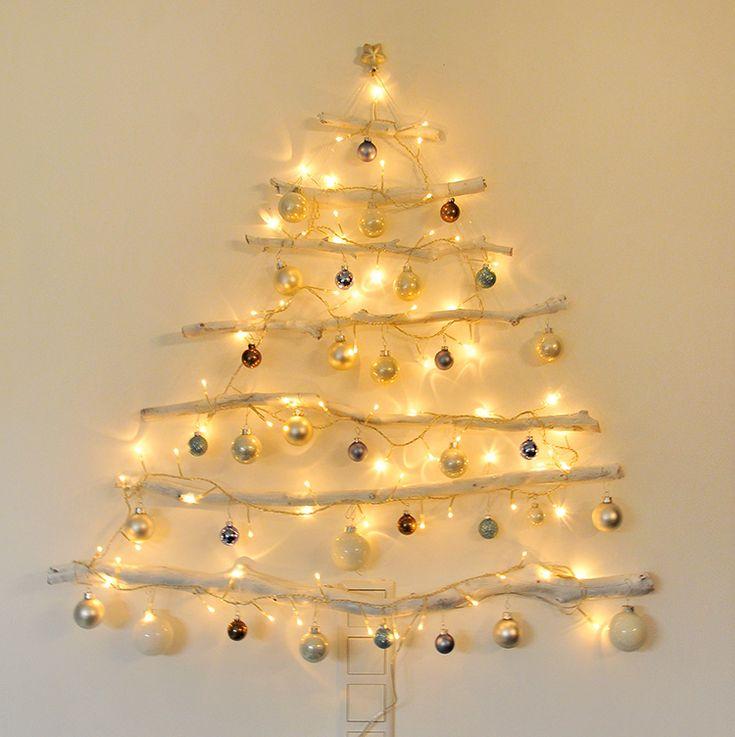 die besten 25 vor beleuchteter weihnachtsbaum ideen auf pinterest kerst ast deko weihnachten. Black Bedroom Furniture Sets. Home Design Ideas