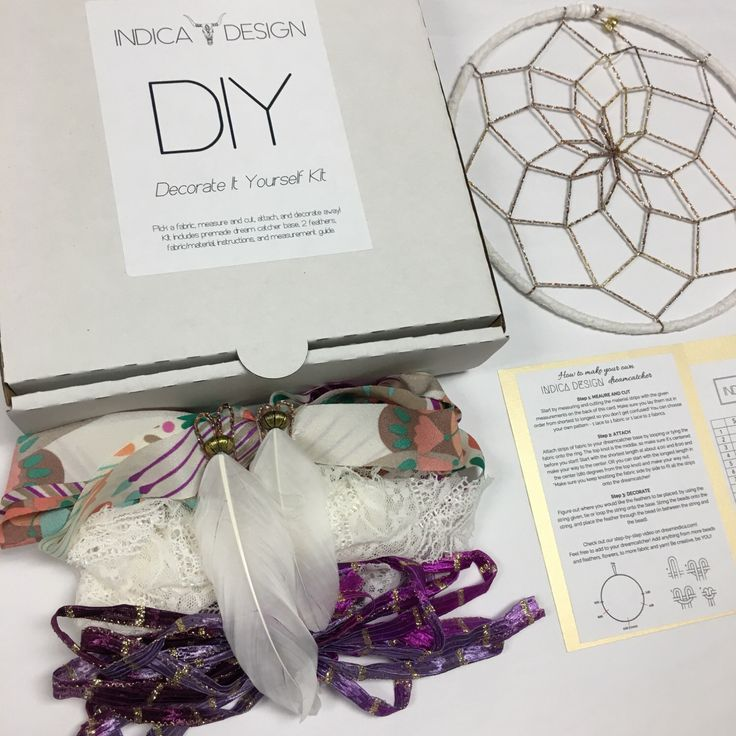 Boho Babe DIY Dream Catcher kit by indicadesign on Etsy https://www.etsy.com/listing/498324299/boho-babe-diy-dream-catcher-kit