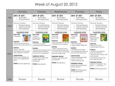 1000+ images about Kindergarten Lesson Plans on Pinterest   Lesson ...