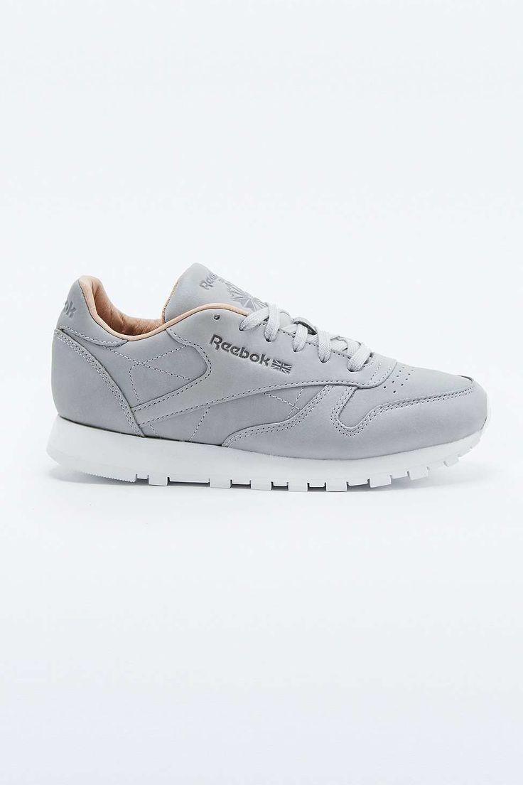 Reebok Classic Premium Grey Trainers in Gray (GREY) | Lyst