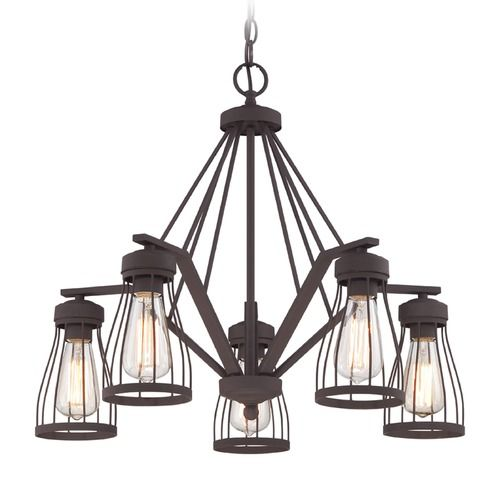 Designers Fountain Brooklyn Bronze Chandelier | 86885-BZ | Destination Lighting