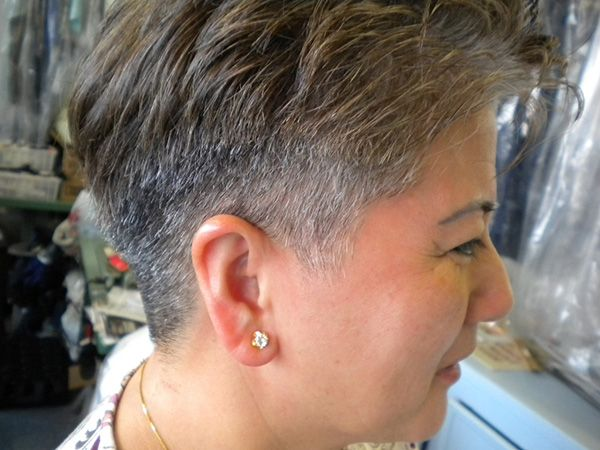 Mens Hairstyles Spiked On Top Short Sides And Back  Short -2802