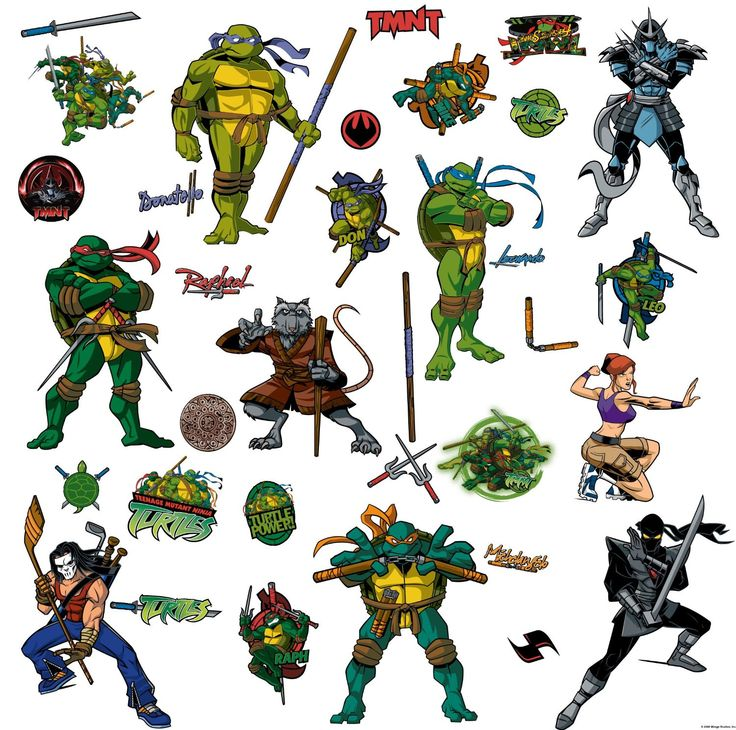 31 Best Images About Tmnt Room On Pinterest
