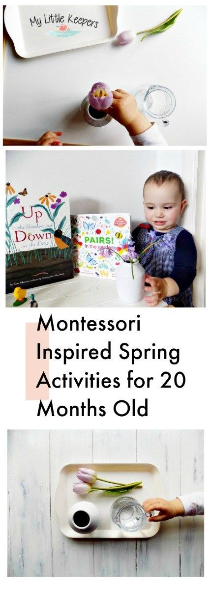 Montessori Inspired Spring Activities for 20 Months Old