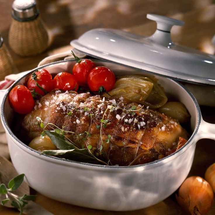 Découvrez la recette du rôti de veau cocotte